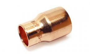 Kupfer Lötfitting Absatznippel (a/i) 22 x 18 mm