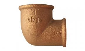"Viega Rotguss Winkel 90° IG/IG 1"" x 3/4"" - Nr. 3090"