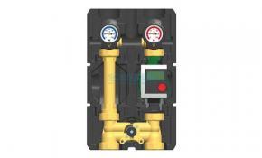 PAW HeatBloC K34-DN 25, 3-Wege-Mischer m. Bypass 50%, Motor u. Hocheffizienzpumpe