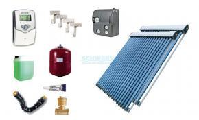 Solaranlage Warmwasser Heizung 2 x EtaSunPro HLK30 Hochleistungs Röhrenkollektor
