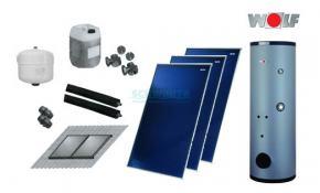 wolf solar paket mit 3x topson f3 1 sem 2 400. Black Bedroom Furniture Sets. Home Design Ideas