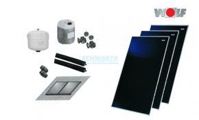 Wolf Solar-Paket mit 3xCFK-1