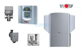 Wolf Wärmepumpe Luft/Wasser-Set BWL-1-8 Außenaufstellung ohne Speicher