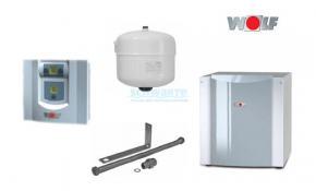 Wolf Wärmepumpen Sole/Wasser-Set BWS-1-06 Innenaufstellung
