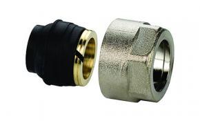 """Logafix Klemmverschraubung Typ KLV 15 für Kupfer-, Weichstahl- und C-Stahlrohr 3/4"""" x 15 mm"""