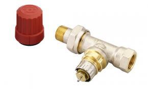 """Danfoss Thermostatventil RA-N 15 1/2"""" mit Voreinstellung, Durchgangsform"""