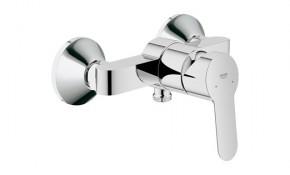 Grohe BauEdge Einhand Brausebatterie chrom mit Rückflussverhinderer - 23333000