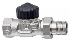 """HEIMEIER Thermostatventil Unterteil 1"""" Durchgangsform Standard"""