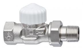 "Heimeier V-exakt Heizkörper Thermostatventil Eck Durchgang 1//2/"" DN15 Rotguss"