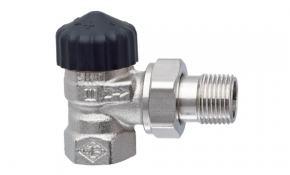 "HEIMEIER Thermostatventil Unterteil 3/4"" Eckform Standard"