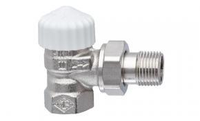 """HEIMEIER V-exact II Thermostatventil 3/4"""" Eck mit Voreinstellung vernickelt"""