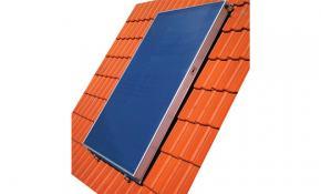 "Solar-Flachkollektor  ""BASIC 2.51 m² senkrecht"