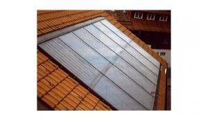 Solaranlage für die Indach Montage 20,80 m² (IKASOL 2.08) zweireihig mit Zubehör