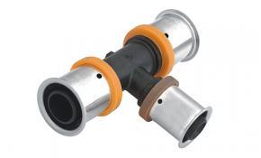 KAN-therm Pressfitting T-Stück reduziert PPSU 32x20x25 mm