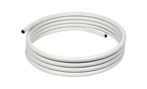 Kupferrohr 10 x 1,0 mm - ummantelt, weich (Ring mit 25 m) - RAL/DVGW-geprüft