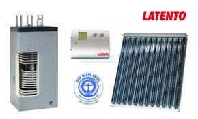 Solarbayer Solarpaket Warmwasser und Heizung 12,84 m² Röhrenkollektor CPC 18