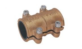 Gebo Messing Dichtschelle / Reparaturschelle 22 mm Typ MD für Kupferrohr