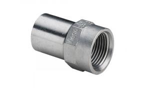 "Viega Sanpress Inox Einsteckstück IG 18 mm x 1/2"" - Modell 2312.1"