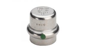 Viega Sanpress Inox Verschlusskappe 42 mm - Modell 2356