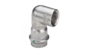 """Viega Sanpress Inox Übergangswinkel 90° IG 18 mm x 1/2"""" - Modell 2314.2"""