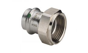 "Viega Sanpress Inox Verschraubung mit Überwurf 28 mm x 1 1/4"" - Modell 2363"