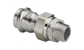 """Viega Sanpress Inox Verschraubung mit AG 35 mm x 1 1/4"""" - Modell 2365"""