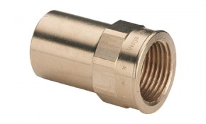 """Viega Sanpress Einsteckmuffe 15 mm x 1/2"""" - Modell 2212.1"""