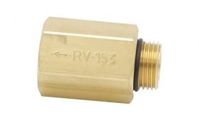 "Rückschlagventil RV 153 1/2"" IG x 1/2"" AG für Pumpen 1/2"""