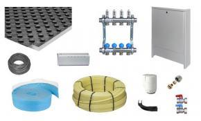 zewotherm fu bodenheizung paket 50m noppenplatte np 30 2. Black Bedroom Furniture Sets. Home Design Ideas