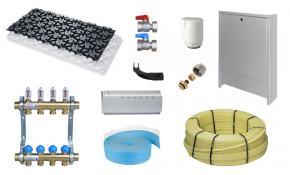 fu bodenheizung paket 40m noppenplatte np 30 2 sd pe rt rohr 16 x 2 mm. Black Bedroom Furniture Sets. Home Design Ideas