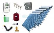 Solaranlage Warmwasser Heizung 5 x EtaSunPro HLK20 Hochleistungs Röhrenkollektoren