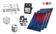 Wolf Solarpaket mit 3 x CRK Hochleistungs-Vakuumröhrenkollektoren 6,9 m²