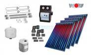 Wolf Solarpaket mit 4 x CRK Hochleistungs-Vakuumröhrenkollektoren 9,20 m²