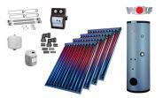 Wolf Solarpaket mit 4 x CRK Hochleistungs-Vakuum-Röhrenkollektoren inkl. SME-1-500