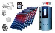 Wolf Solarset mit 5x CRK Vakuumröhrenkollektoren inkl. BSP-800