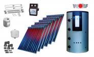 Wolf Solarset mit 6x CRK Vakuumröhrenkollektoren inkl. BSP-1000