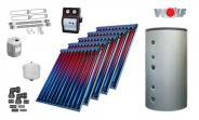 Wolf Solarset mit 5x CRK Vakuumröhrenkollektoren inkl. BSH-800