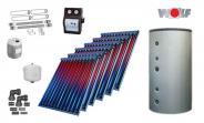 Wolf Solarset mit 6x CRK Vakuumröhrenkollektoren inkl. BSH 1000