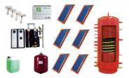 Solarkollektoren BASIC 2.51 (15,06 m²) mit 800 Ltr. Hygieneschichtkombispeicher HSK