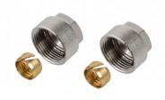 Klemmringverschraubungen für Kupfer und Stahlrohre 12 mm