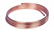 Kupferrohr 6 x 1,0 mm - blank, weich (Ring mit 10 m) - DVGW-geprüft