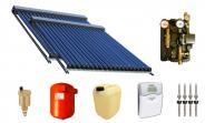 Solarpaket Warmwasser und Heizung mit 50 SWD Röhren 58/1800 (8,31m²) Edelstahl